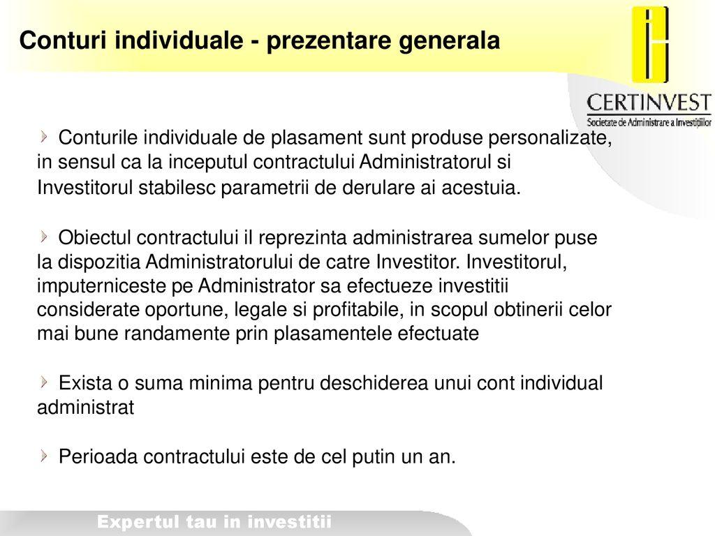 prezentare generală a investițiilor pe internet cele mai bune proiecte