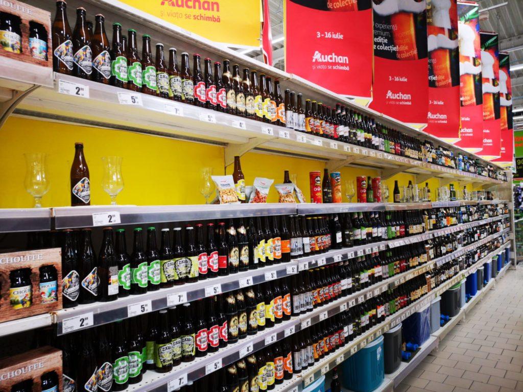 comerț cu știri de bere
