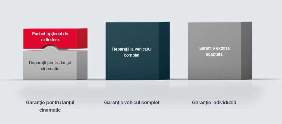 opțiuni și tipuri de garanții