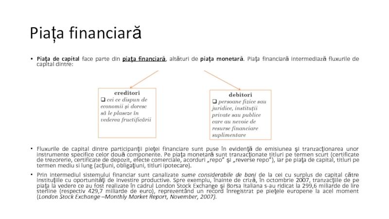 Tipuri de Piețe Financiare și Caracteristici