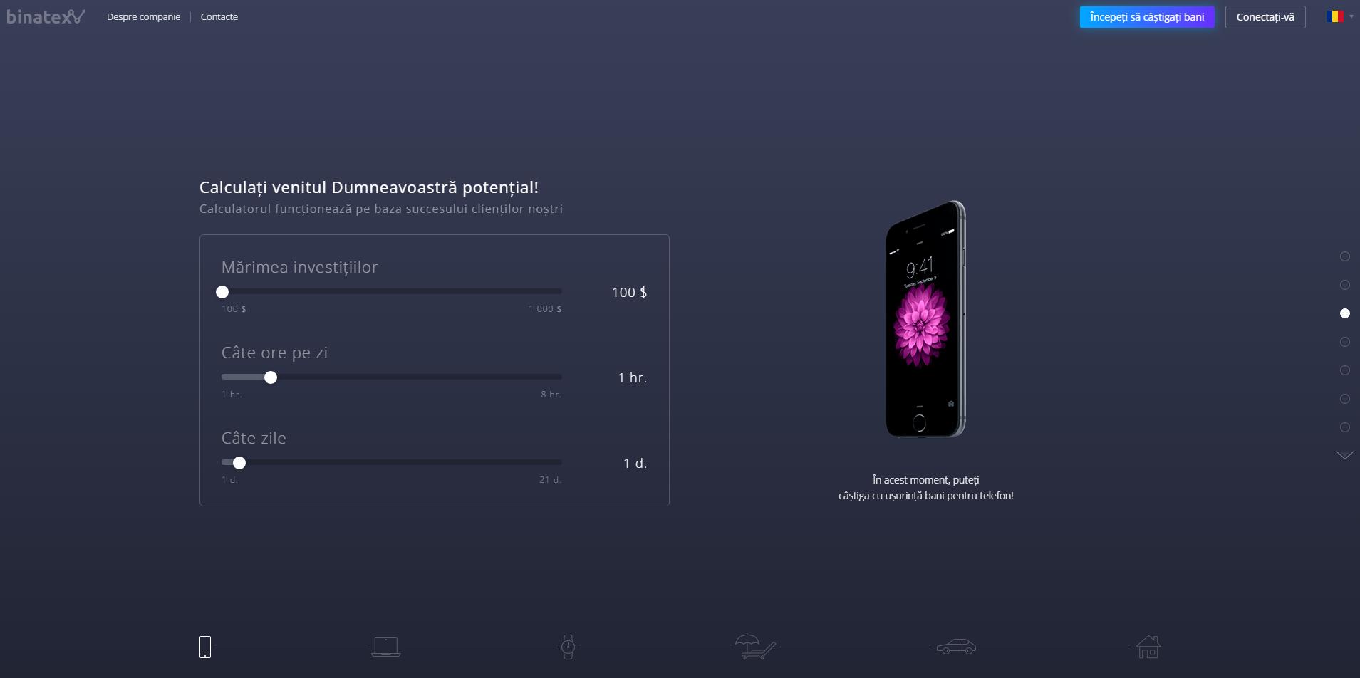 opțiuni binare pentru mobil)