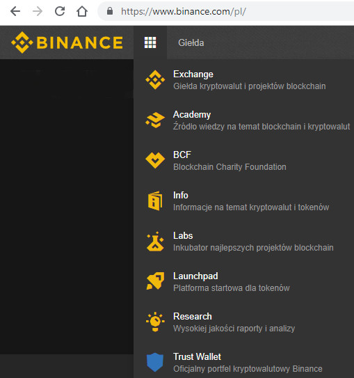 bitcoin preț us binance