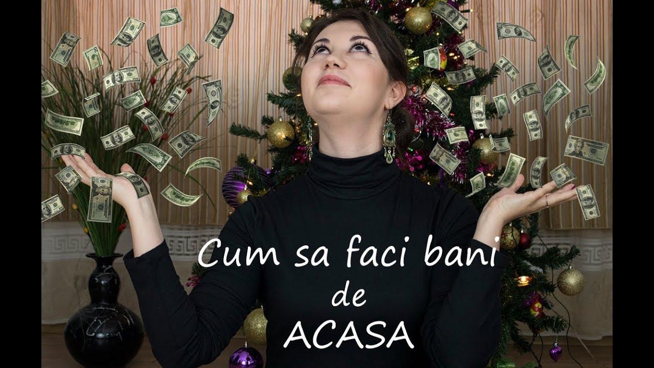 cum să faci bani acasă)