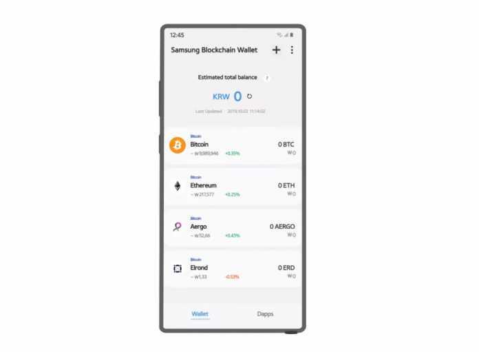 informații blockchain portofel