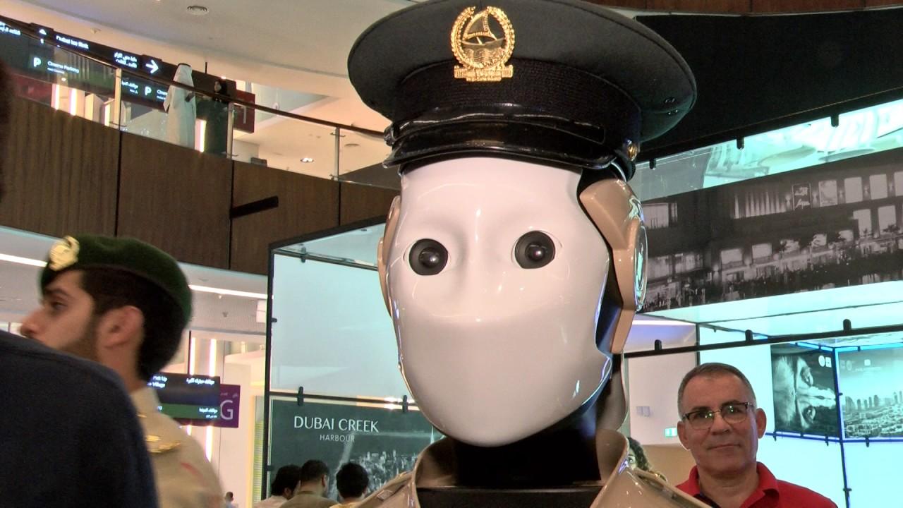 robot în mall