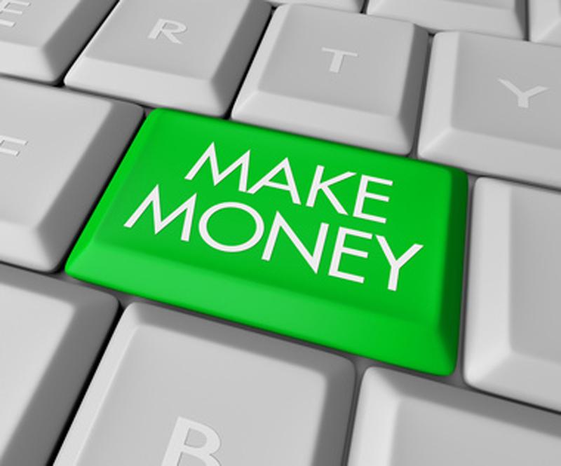 a câștiga bani pe internet este ușor)