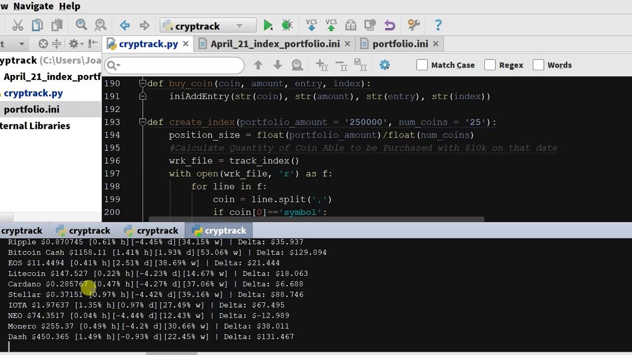 exemplu de bot python binance