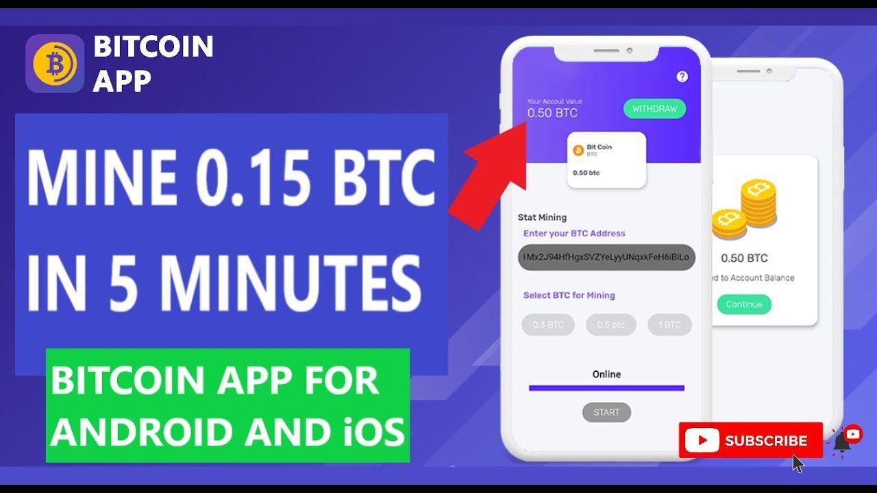Free Bitcoin Miner - Earn BTC
