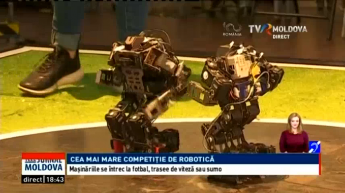 video câștiga cu ajutorul robotului
