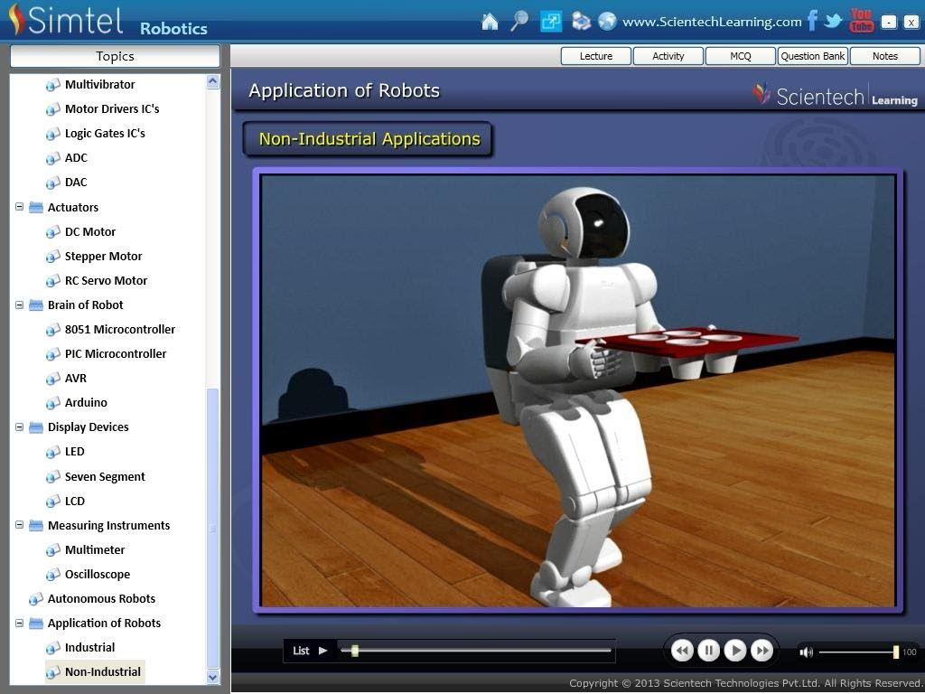 software robot comercial)
