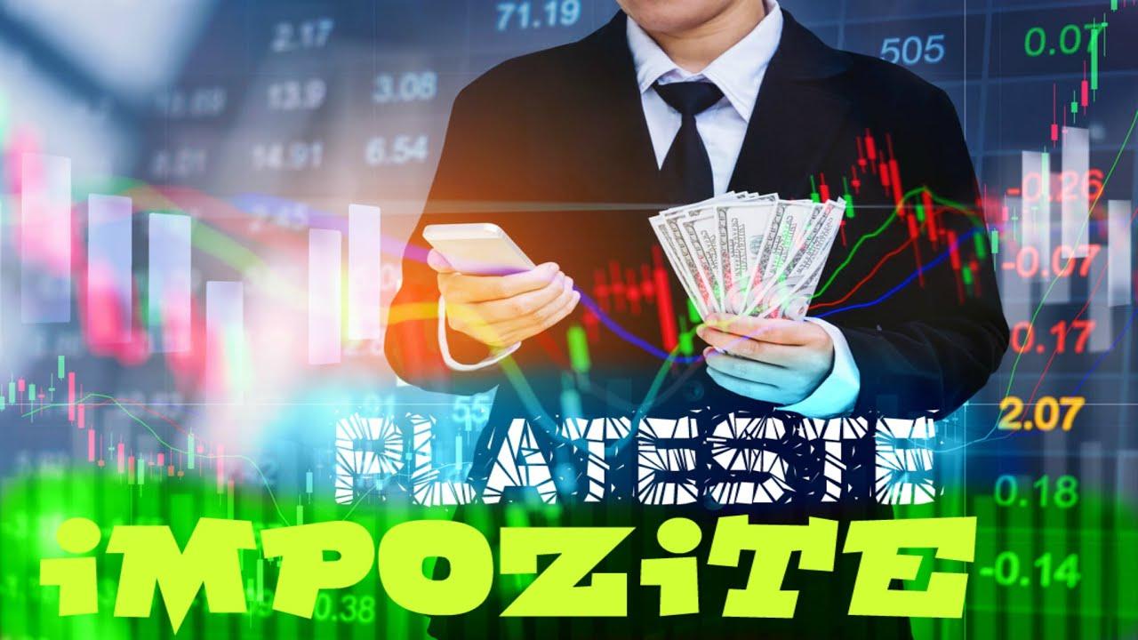 Cum se decontează impozitul străin din opțiunile Forex și binare?