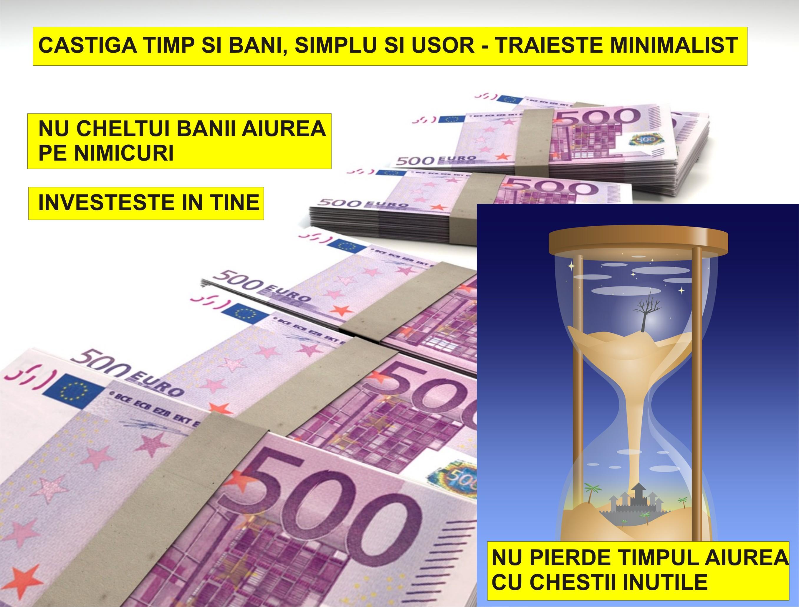 cum să faci bani și să nu investești bani