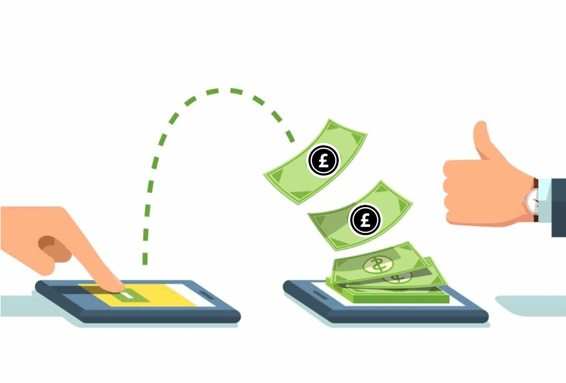 cum să faci bani prin transferul de bani