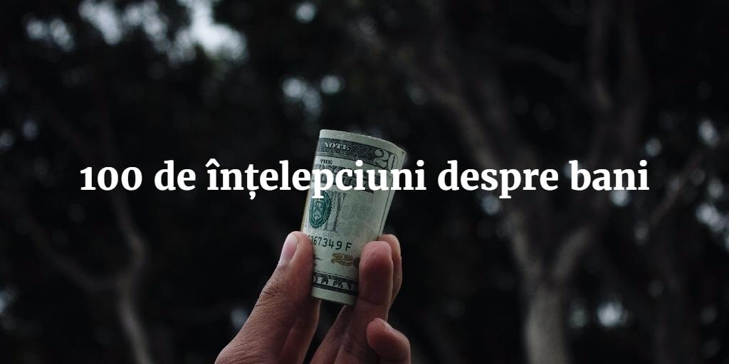 se pot câștiga întotdeauna bani)