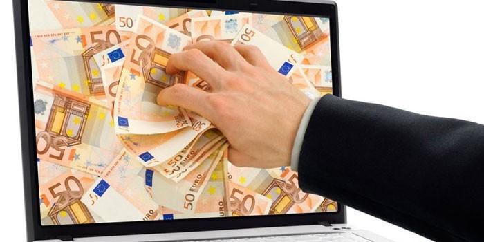 căutând venituri suplimentare pe Internet)