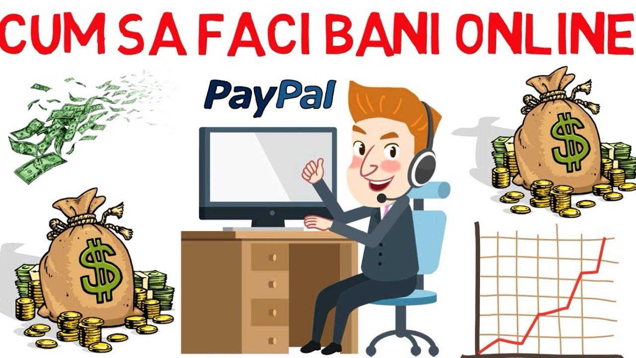 cum pot face bani online