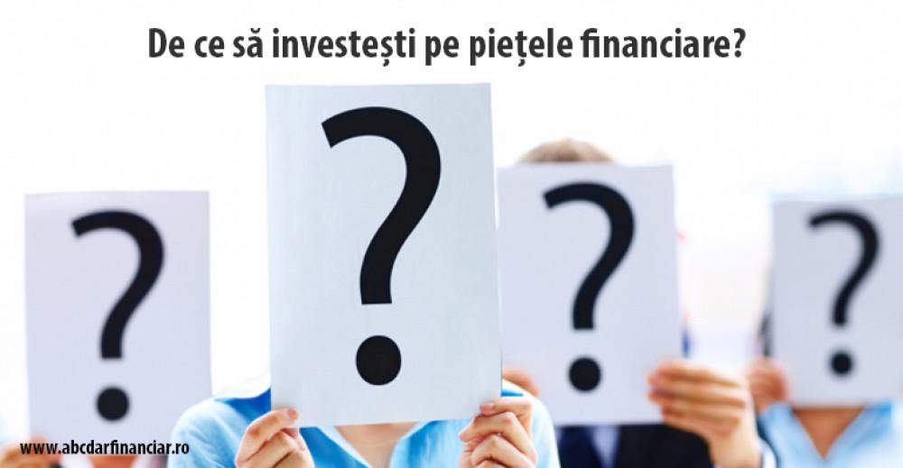 investirea piețelor financiare)