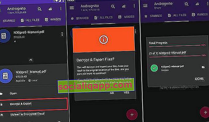 aplicație criptografică pentru Android