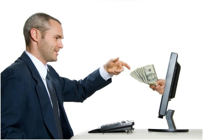 în cazul în care puteți câștiga bani mari și pe internet