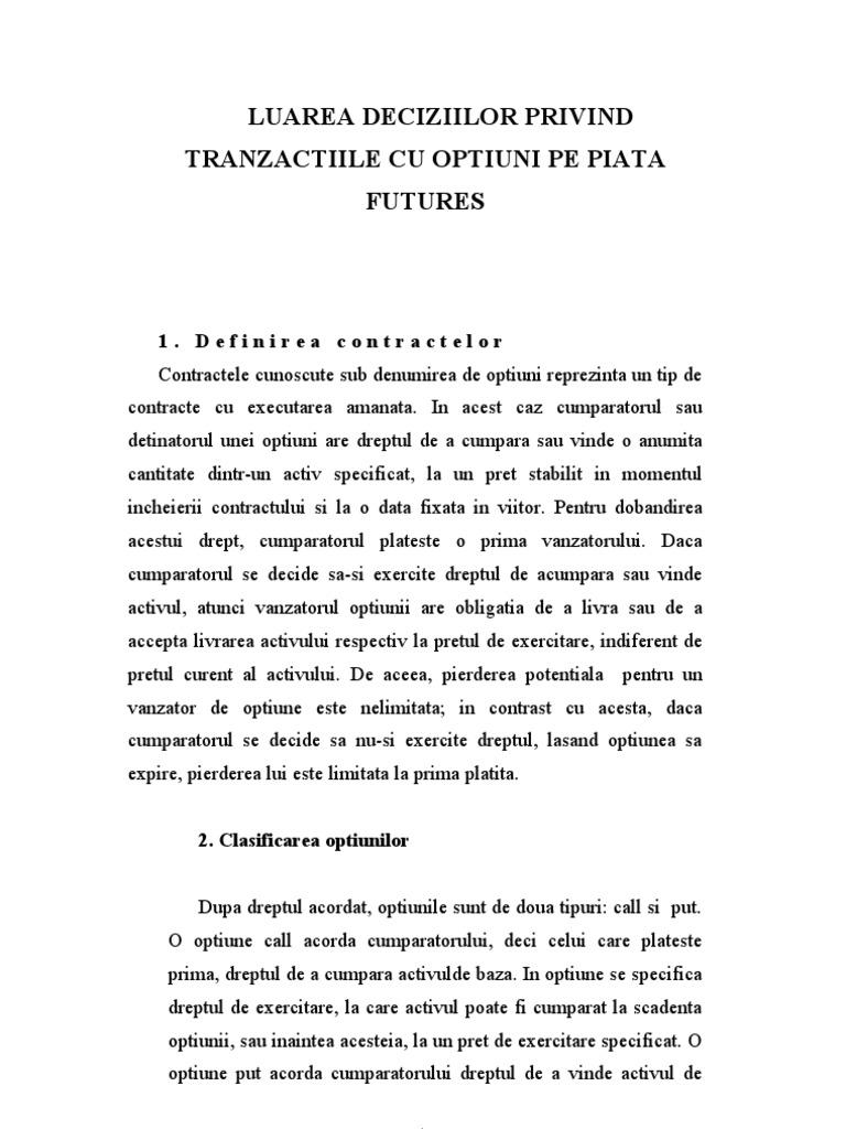 """Starea barierei. Opțiuni exotice (capitolul din cartea """"Opțiuni financiare"""" de MV Chekulaev)"""