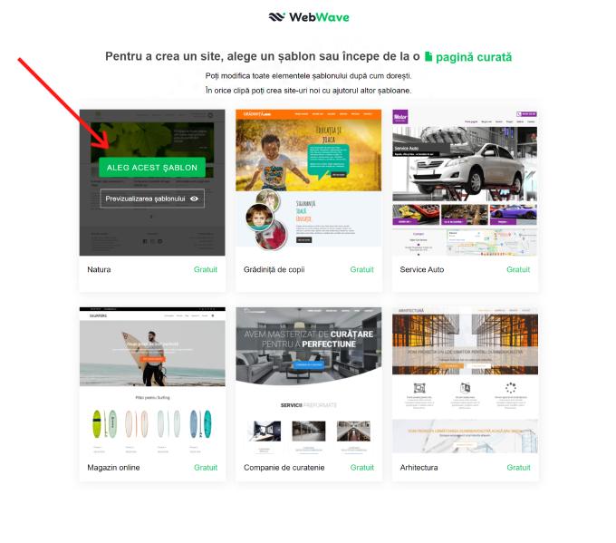 deschiderea unui site web face bani)