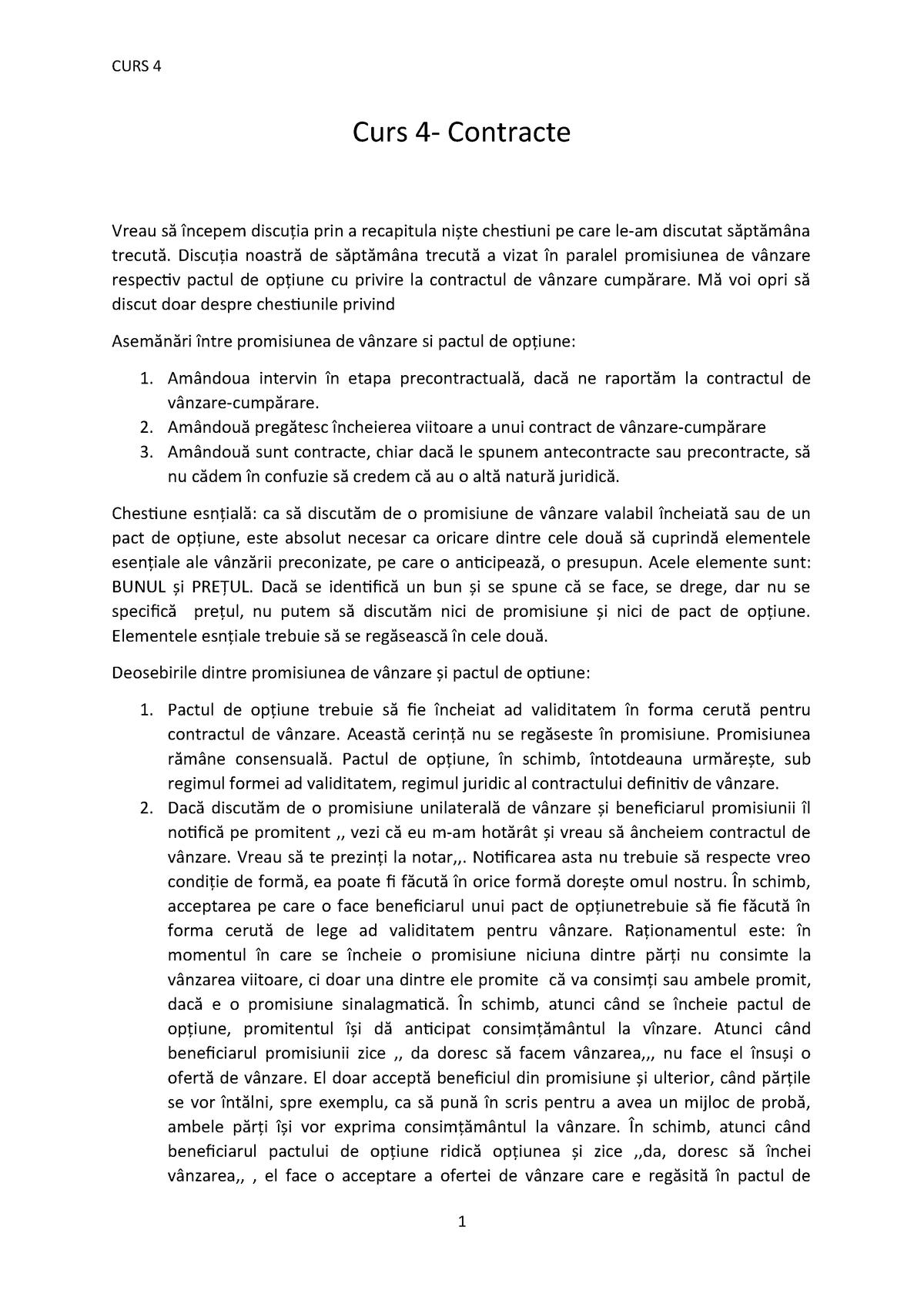 opțiune și acord de opțiune