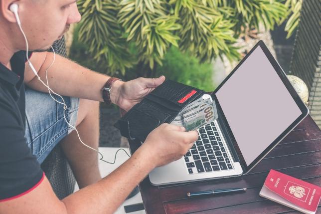 câștigați bani pe Internet cu un portofel qw)