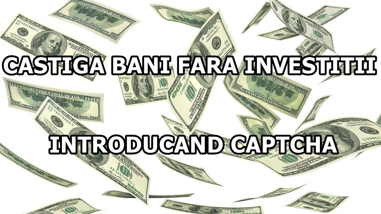 câștigând bani pe internet investind bani