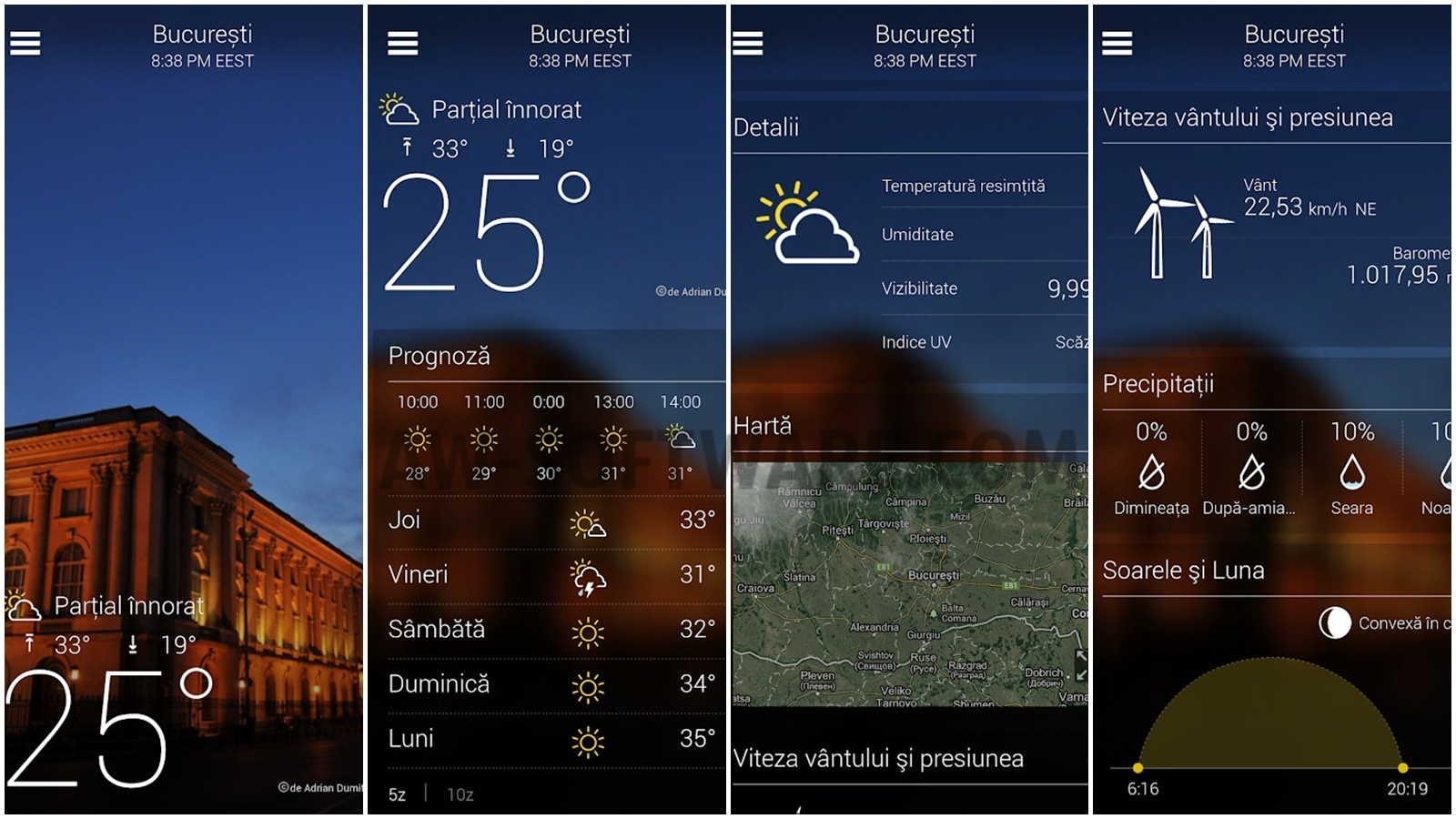 Weather - Aplicatii - HTC SUPPORT | HTC România