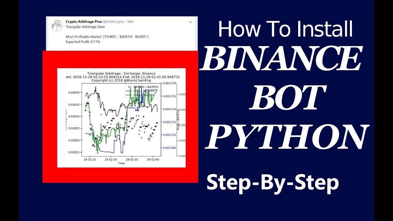binance python bot)