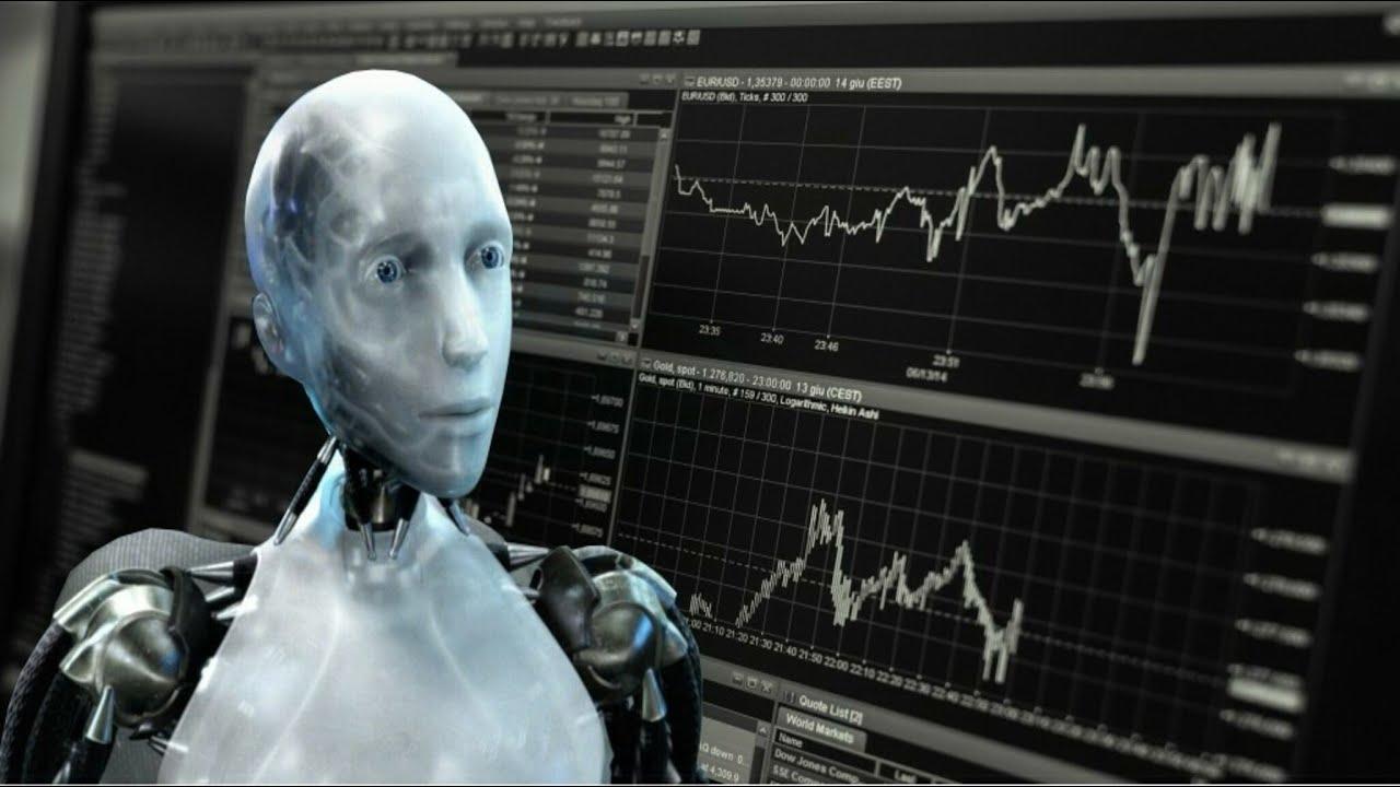 Automat binar robot