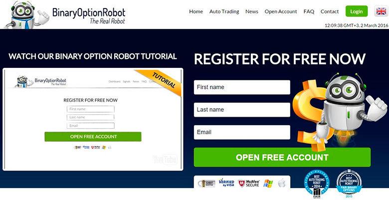 opțiuni binare comerciant robot