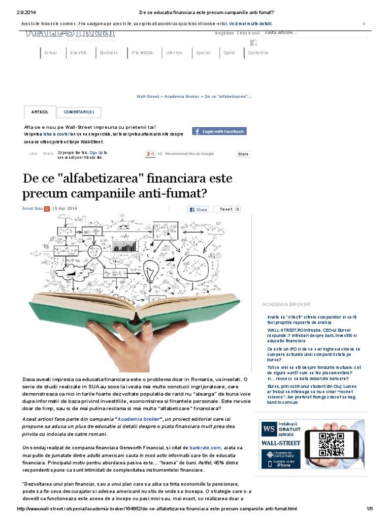 Vermittlung von Finanzwissen - Traducere în română - exemple în germană | Reverso Context