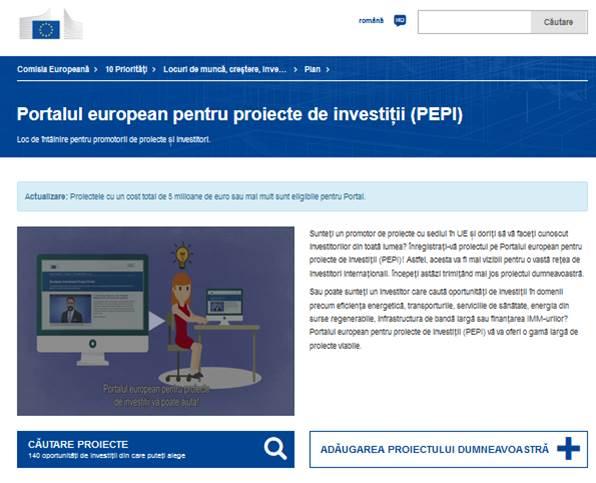 proiecte de internet pentru investiții