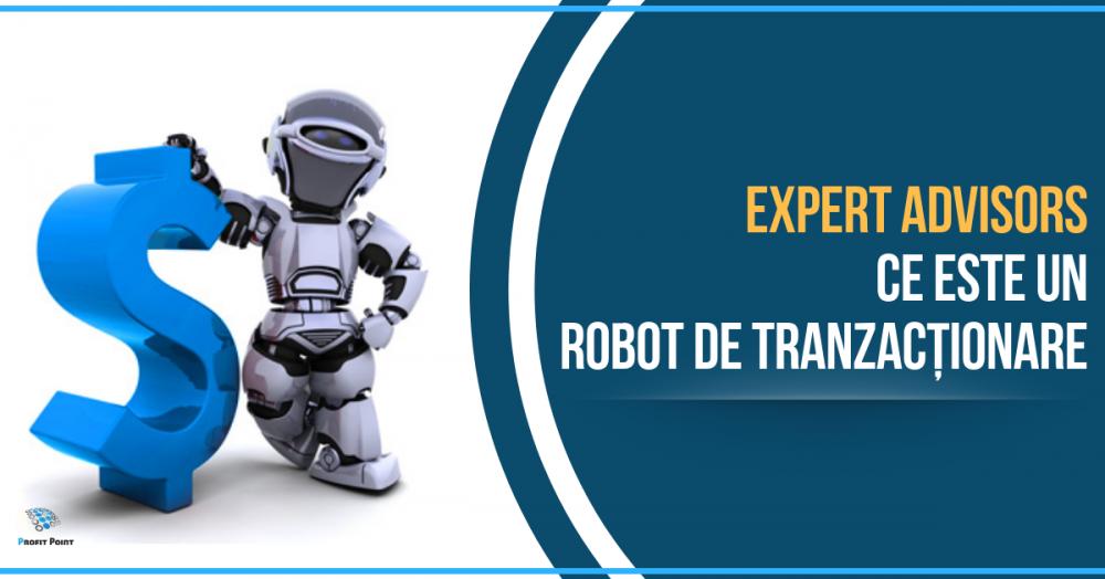 robot de tranzacționare cu)