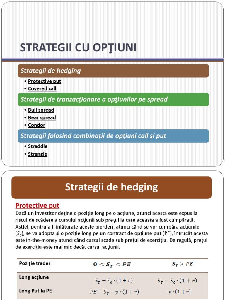 pentru opțiuni super strategie)