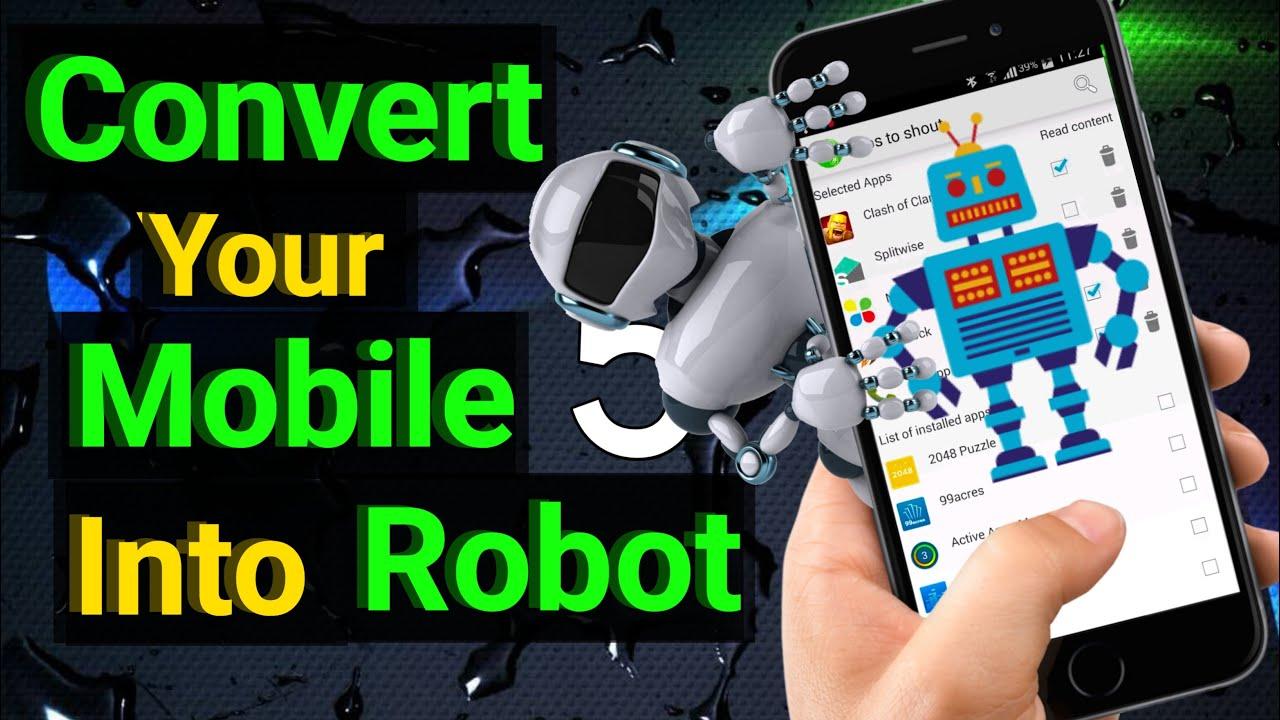 robotul câștigă bani pentru dvs. pe smartphone)