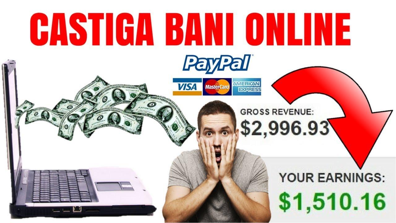 secrete de a face bani rapid pe Internet