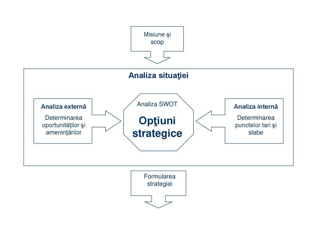 opțiuni de evaluare a strategiilor