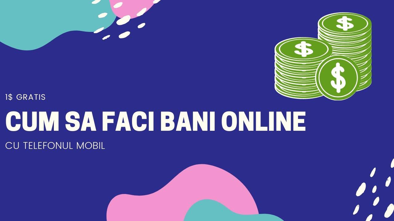 Te voi învăța cum să faci bani online)