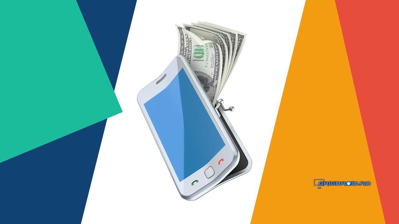 câștigați bani pe un cont mobil