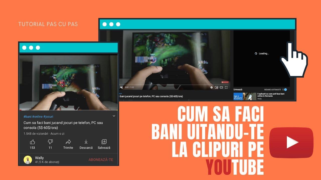 cum poți câștiga bani rapid video