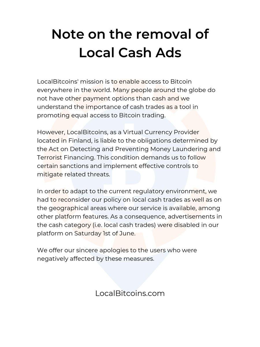 localbitcoins fără verificare