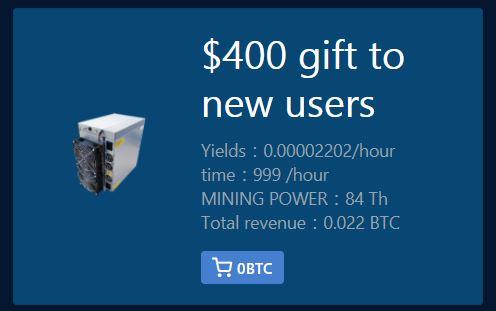 investiți în Bitcoin și primiți un procent)