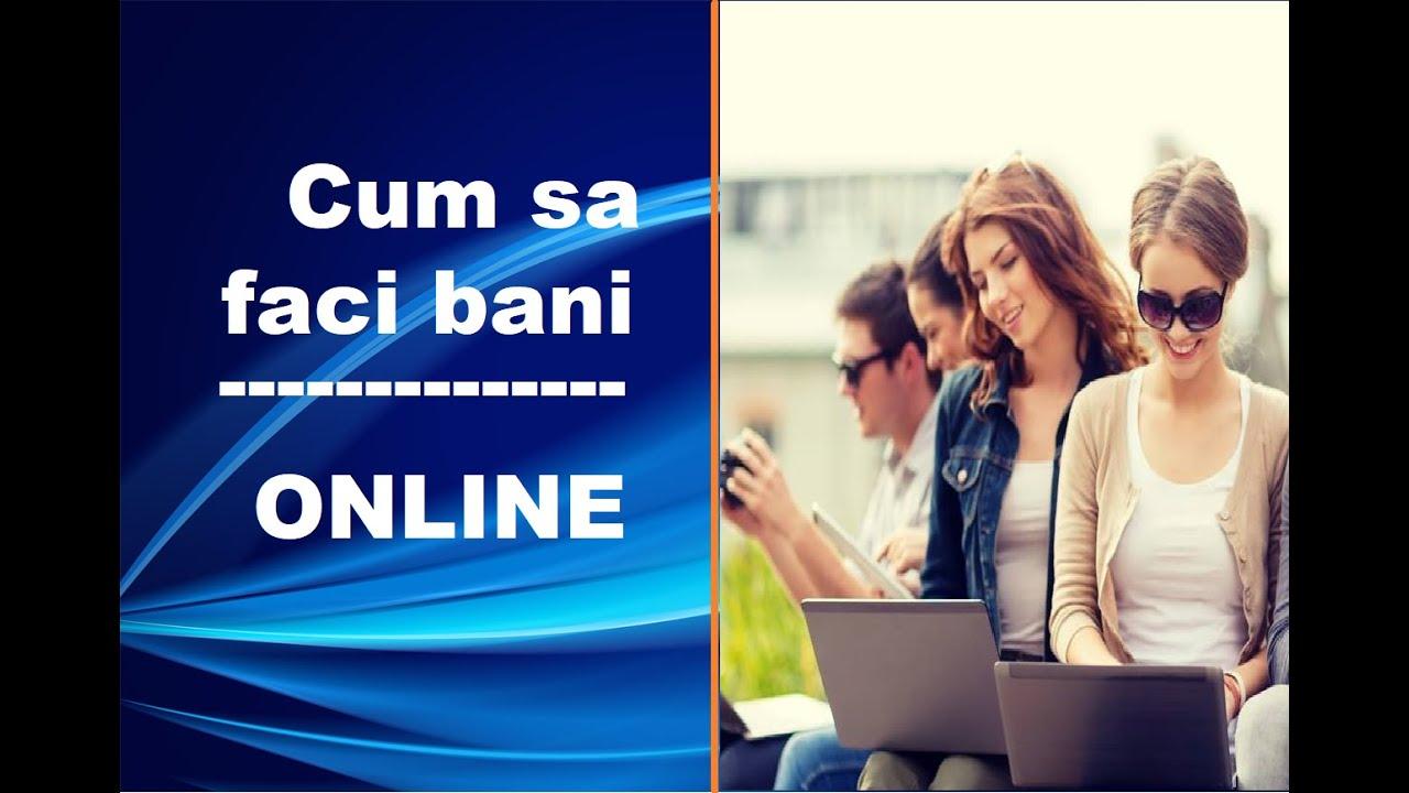 cum să faci bani online pentru începători