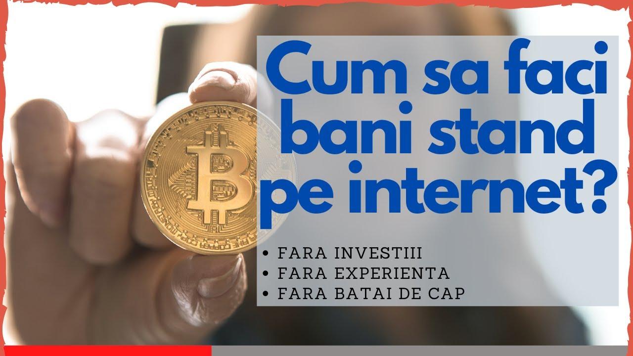 cum să faci bani fără internet)