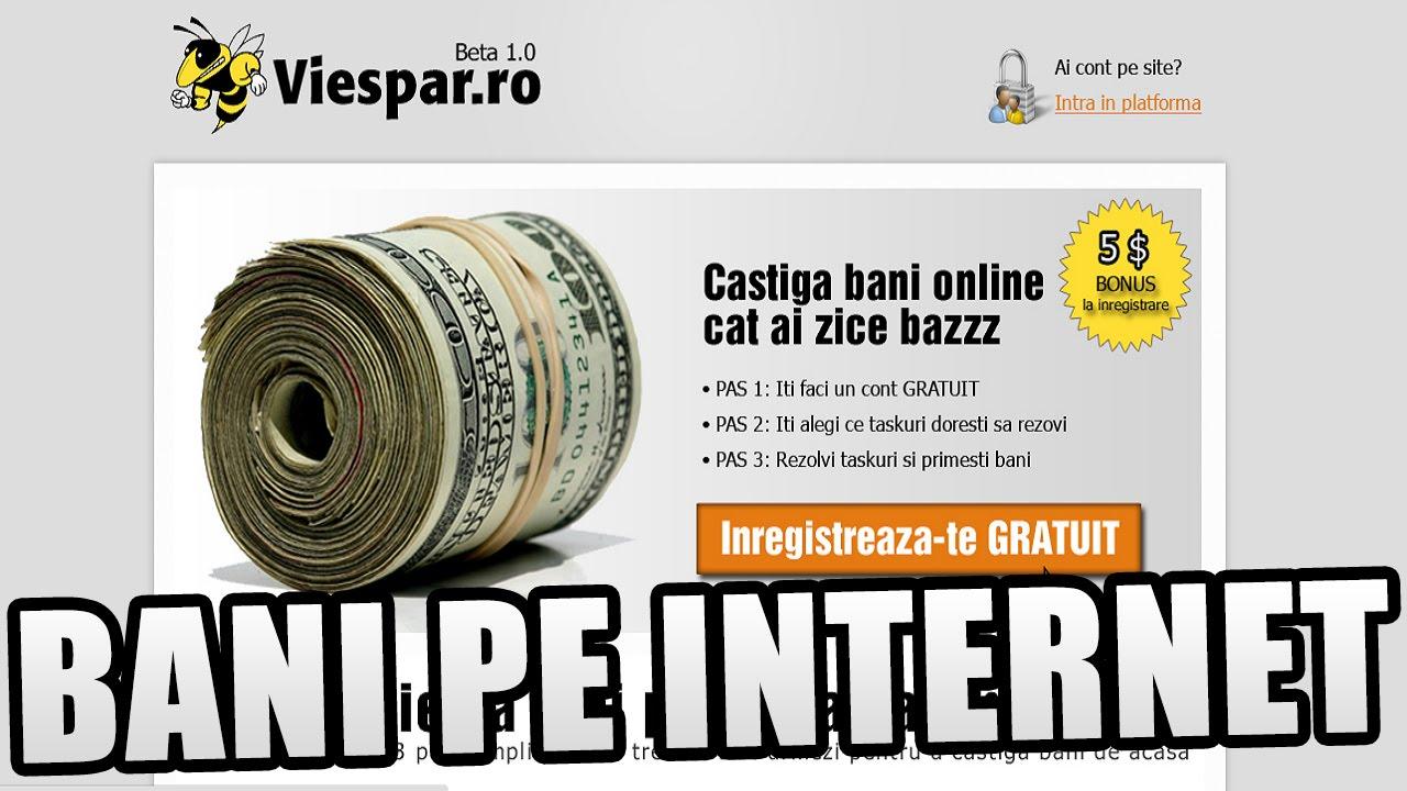 cum pot câștiga bani pe internet)