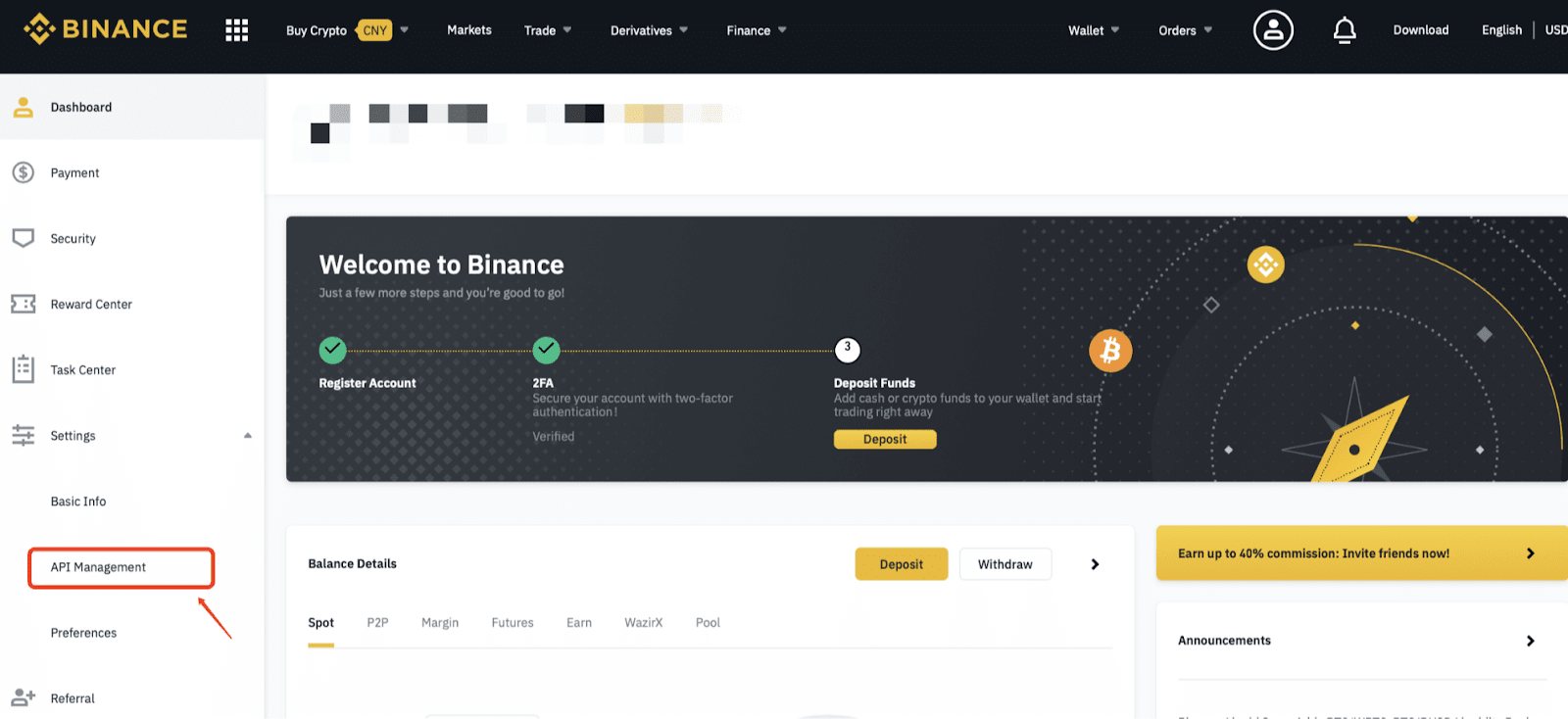 bitcoin preț us binance)
