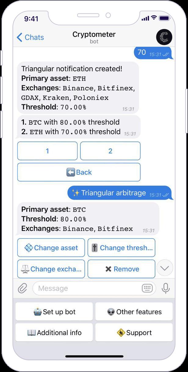 Criptobot gratuit cu telegramă)