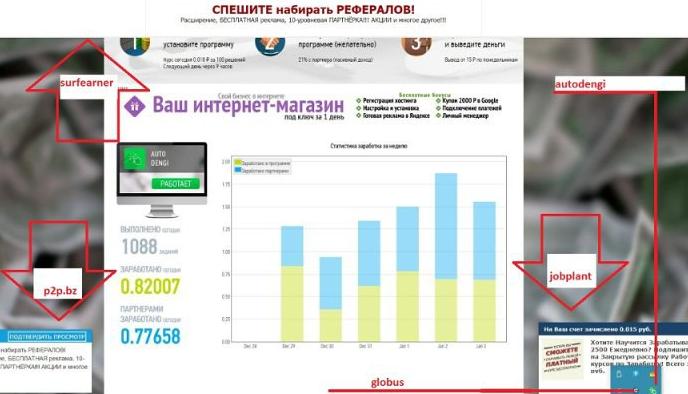 câștigați bani prin programul Internet moneybux auto- câștiguri)